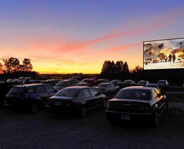 Un cinéma en drive-in s'installe près de Pézenas