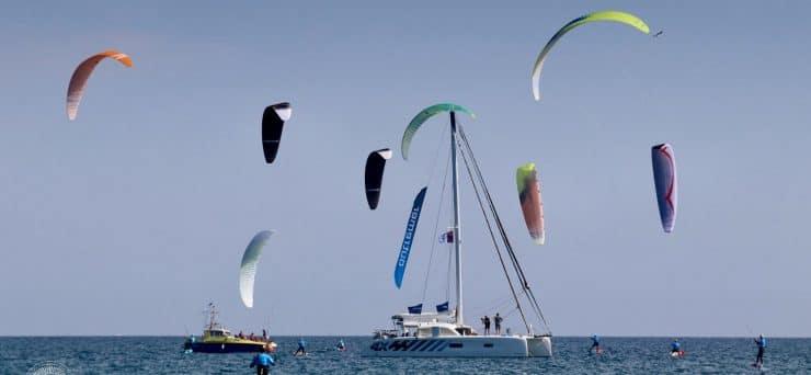 Le meilleur du kite à Villeneuve-lès-Maguelone