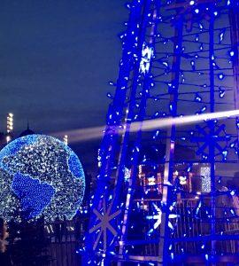 Le globe lumineux sera remplacé par une autre attraction