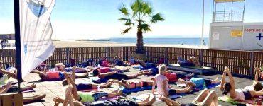 Palavas : une salle de sport éphémère et gratuite sur la plage