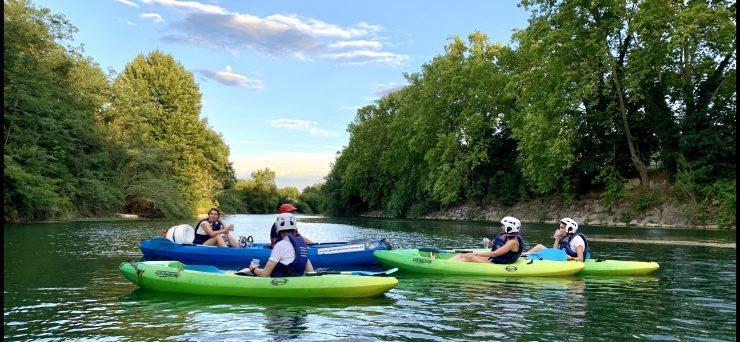 Montpellier : des balades en canoë sur le Lez
