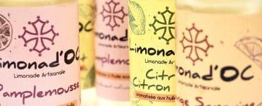 Limonad'Oc : la limonade Occitane aux huiles essentielles.