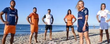 Montpellier : les joueurs du MHSC présentent la nouvelle collection