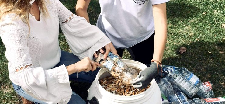 Montpellier : 6 kg de mégots ramassés par les étudiants