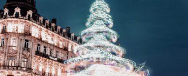 Montpellier : un grand sapin sur la Comédie !