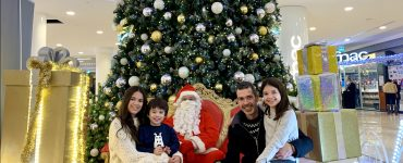 Le Père Noel est arrivé au Polygone!
