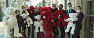 Les doudous de Verchant donnent le sourire à des enfants malades - Facebook Domaine de Verchant