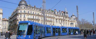 Montpellier est la 2e ville la plus rapidement traversées en transports en commun