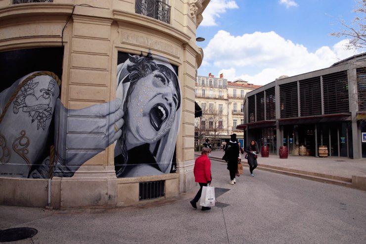 Un Street Art percutant pour défendre le droit des femmes