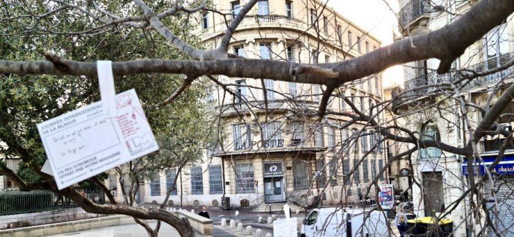 Montpellier : 500 cartes à blagues dans l'Ecusson pour nous donner le moral