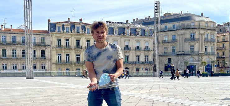 Montpellier : on a trouvé le champion du monde de ramassage de déchets