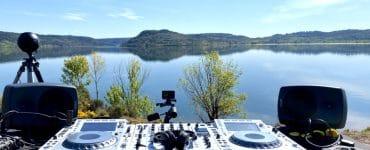 Montpellier : un concert en live à 360° au Salagou