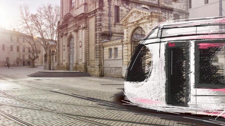 Ligne 5 : un hommage à la science pour le design du futur tram