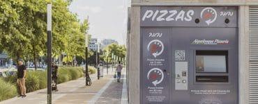 Un distributeur automatique de pizzas artisanales ouvre au Nuage