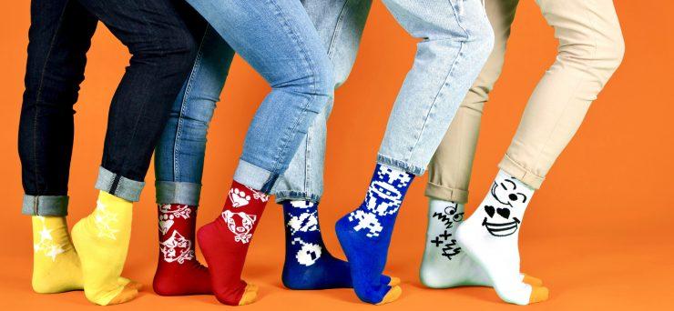 Les chaussettes montpelliéraines Cruel Dilemme sont en solde !