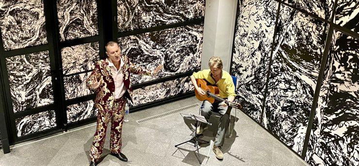 Le contre ténor Yann Golgevit dévoile sa nouvelle création musicale