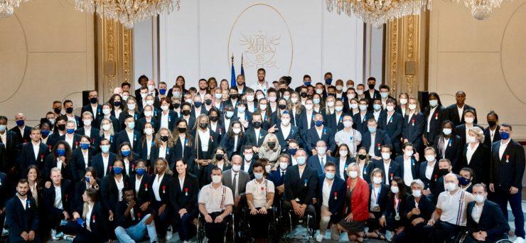 Hérault: les 14 athlètes reçus à l'Elysée
