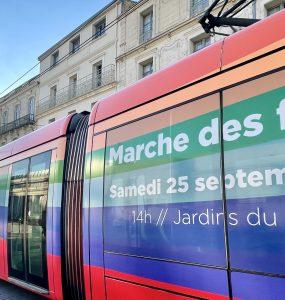 Un tram gay friendly pour annoncer la pride
