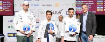 Castries : il devient champion de France du sushi